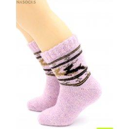 Распродажа носки Hobby Line HOBBY 7639-6 детские ангора, махра внутри, скандинавия, олени
