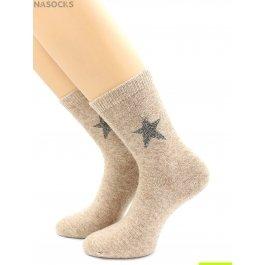 "Носки Hobby Line HOBBY 30599-3 женские носки с мехом внутри ""Santa"""