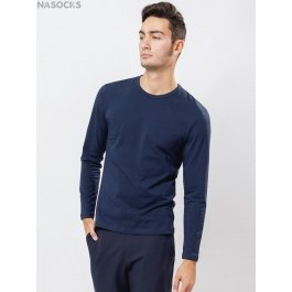 Футболка лонгслив Oxouno OXO 0633 KULIR 01 Slim fit U-вырез