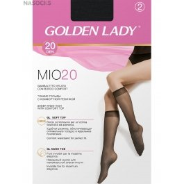 Гольфы Golden Lady MIO 20 (гольфы 2 п.)