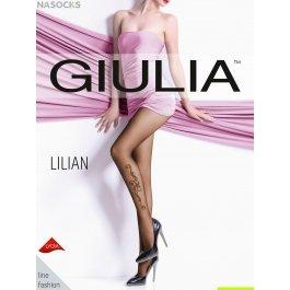 Распродажа колготки с имитацией татуировки Giulia LILIAN 02