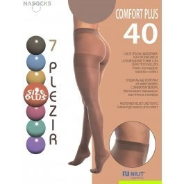 Распродажа колготки женские 7 Plezir Comfort Plus 40