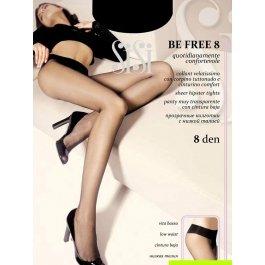 Распродажа колготки Sisi Be Free 8 den Vita Bassa женские с заниженной талией