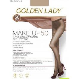 Распродажа колготки женские полиамидные, матовые Golden Lady Make Up 50 den