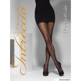 Распродажа колготки женские фантазийные INTRECCIO  20 DEN DISEGNO 20