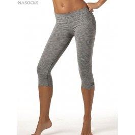 Спортивные бесшовные женские леггинсы-капри Active Fit Donna Panta 3-4 Melange