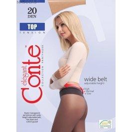 Колготки с заниженной талией для чувствительной кожи Conte Elegant Top Soft 20
