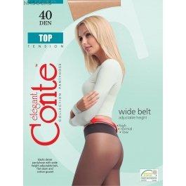 Колготки с заниженной талией для чувствительной кожи Conte Elegant Top Soft 40