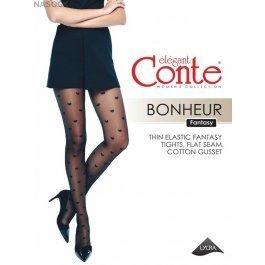 "Колготки с рисунком ""сердечки"" Conte Elegant Bonheur 20"