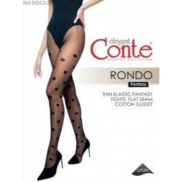 Колготки в крупный горох Conte Elegant Rondo 20