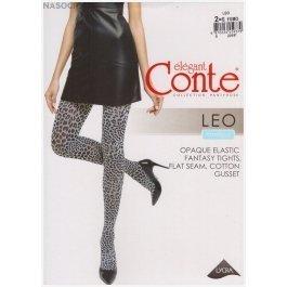 Колготки с леопардовым рисунком Conte Elegant Leo 50