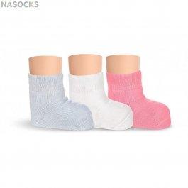 Носки детские однотонные махровые Lorenz Л34