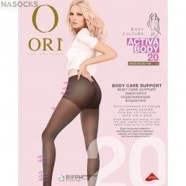 Колготки женские с лёгким поддерживающим эффектом Ori Activa Body 20