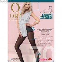 Колготки женские с лёгким поддерживающим эффектом  Ori Attiva Body 70