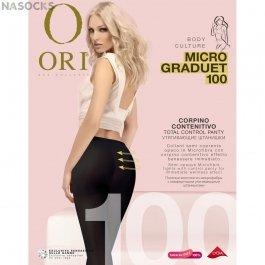 Колготки женские из microfibra c корректирующим эффектом  Ori Graduet 100 Micro