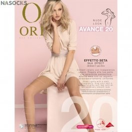 Колготки женские шелковистые Ori Avance 20