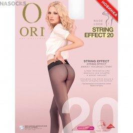 Колготки женские с эффектом трусиков-стринг Ori String Effect 20