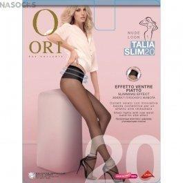 Колготки женские с утягивающими широким поясом Ori Talia Slim 20
