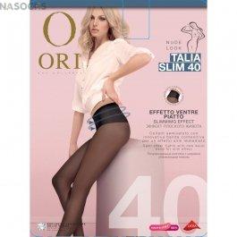 Колготки женские с утягивающими широким поясом Ori Talia Slim 40