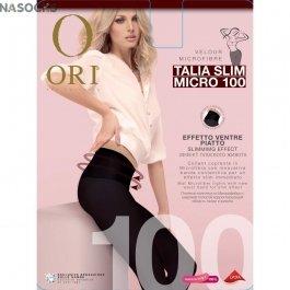 Колготки теплые с моделирующим и утягивающим эффектом Ori Talia Slim Micro 100