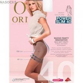 Колготки женские с моделирующими штанишками Ori Power Slim 40