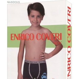 Трусы боксеры для мальчика Enrico Coveri Eb4059 Boy Boxer