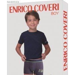 Комплект для мальчика Enrico Coveri Ec4035 Boy Coord. Boxer - T-shirt