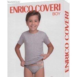 Комплект для мальчика Enrico Coveri Ec4035s Boy Coord. Slip - T-shirt