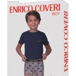 Комплект для мальчика Enrico Coveri Ec4048 Boy Coord. Boxer - T-shirt