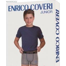 Комплект для мальчика Enrico Coveri Ec4049 Junior Coord. Boxer - T-shirt