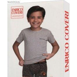 Комплект для мальчика Enrico Coveri Ec4057 Boy Coord. Boxer - T-shirt