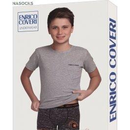 Комплект для мальчика Enrico Coveri Ec4057 Junior Coord. Boxer - T-shirt