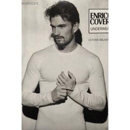 Лонгслив мужской  Enrico Coveri Et1004 Uomo Manica Lungo Girocollo