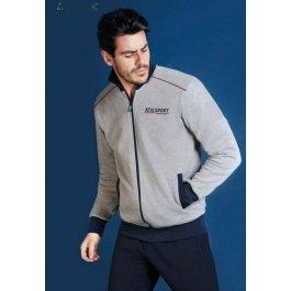 Теплый мужской спортивный комплект Enrico Coveri Ep7019 Athletic