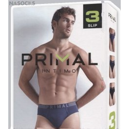 Трусы мужские Primal S203 Uomo Slip, 3 Pezzi