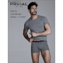 Мужской комплект  Primal Cb131 Coord. Boxer + T-shirt