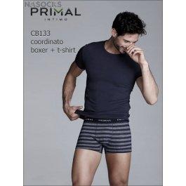 Мужской комплект  Primal Cb133 Coord. Boxer + T-shirt