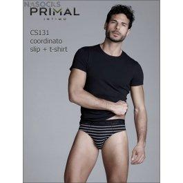 Мужской комплект  Primal Cs131 Coord. Slip + T-shirt
