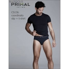Мужской комплект Primal Cs136 Coord. Slip + T-shirt