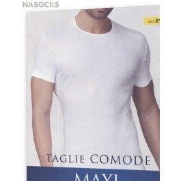 Футболка мужская больших размеров Primal 8100 Maxi Uomo T-shirt Maglia Manica Girocollo