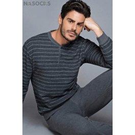 Комплект мужской теплый  Enrico Coveri Ep5055 Homewear