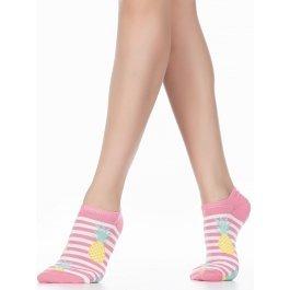 Носки женские коротенькие с рисунком ананас Wola W81.01P.678