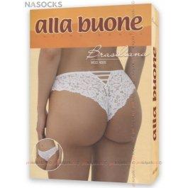 Трусики-бразилиана с кружевом Alla Buone 6005