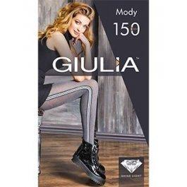 Колготки хлопковые с лампасами Giulia MODY 02  150 ден