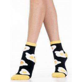 Носки теплые махровые-пенка, яичница-глазунья Hobby Line HOBBY 2209-2
