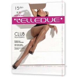 Колготки женские тонкие Elledue Club 15