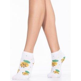 """Короткие хлопковые носочки с рисунком """"ананас""""Giulia WS1C 032"""