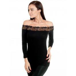 Праздничная блузка с вырезом-лодочка Фуфайка Jadea JADEA 4841 maglia