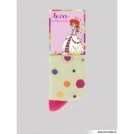 Носки Charmante SAK-14211 детские, хлопковые, в горошек