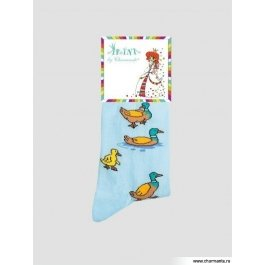 Носки Charmante SAKP-14232 хлопковые, детские с рисунком
